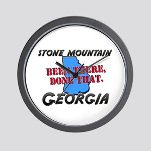 stone mountain georgia - been there, done that Wal