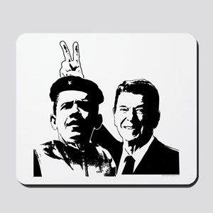 Ron Gives Obama the Rabbit Ears Mousepad