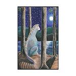 Cooper Lake Creature Mini Poster Print