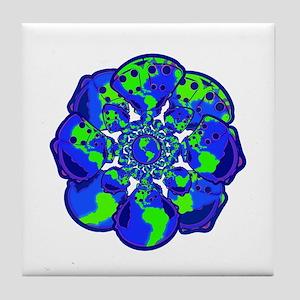 World of Cloth Tile Coaster