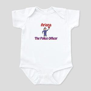 Ariana - Police Officer Infant Bodysuit