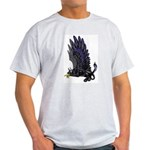 "Dreslough's ""Black Gryphon"" Light T-Shirt"