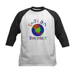 Earth Day t-shirts Kids Baseball Jersey
