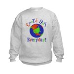 Earth Day t-shirts Kids Sweatshirt