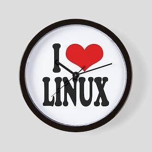 I Love Linux Wall Clock