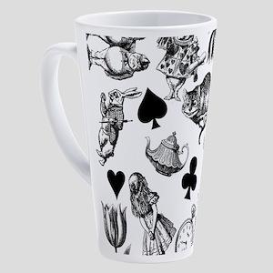 Alice in Wonderland Cheshire Cat R 17 oz Latte Mug