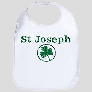 St Joseph shamrock Bib
