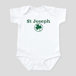 St Joseph shamrock Infant Bodysuit