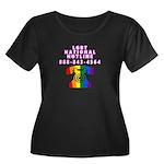Women's Black T Plus Size T-Shirt