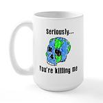 Killing the Earth Large Mug