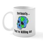 Killing the Earth Mug