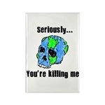 Killing the Earth Rectangle Magnet (100 pack)