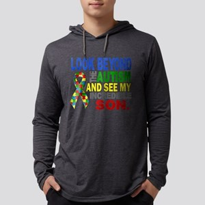 Look Beyond 2 Autism Son Long Sleeve T-Shirt