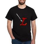 Fork in L Black T-Shirt