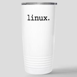 linux. Stainless Steel Travel Mug