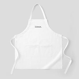 linux. BBQ Apron