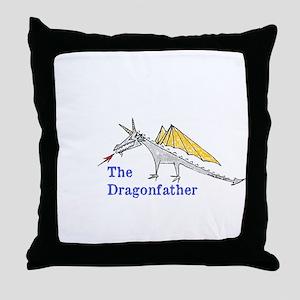 The Dragonfather Throw Pillow