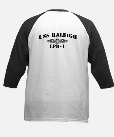 USS RALEIGH Kids Baseball Jersey