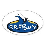 SRFBOY Oval Sticker