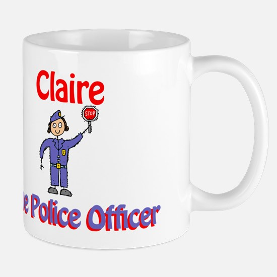 Claire - Police Officer Mug