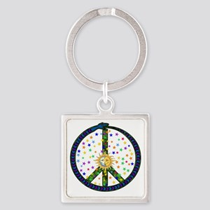 Solstice Peace Keychains