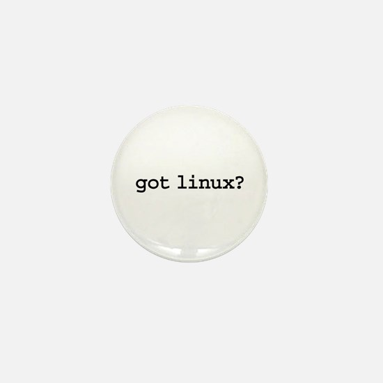 got linux? Mini Button