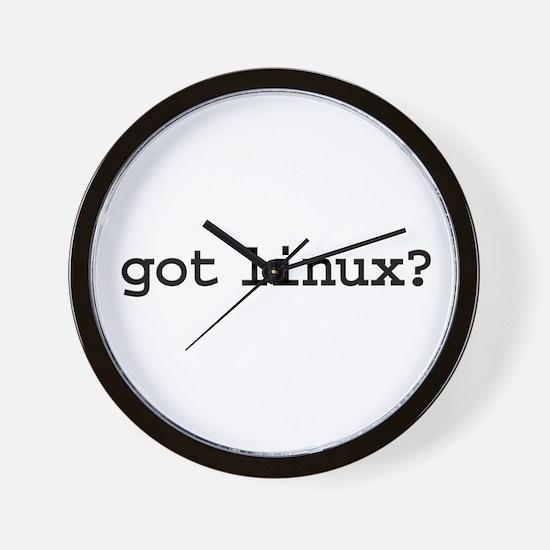 got linux? Wall Clock