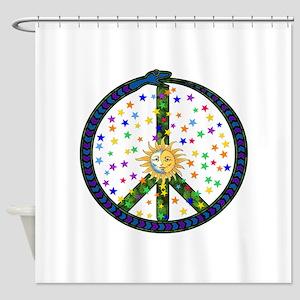 Solstice Peace Shower Curtain