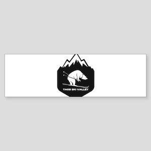 Taos Ski Valley - Taos - New Mexi Bumper Sticker