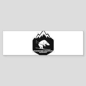 Schweitzer Mountain - Sandpoint - Bumper Sticker