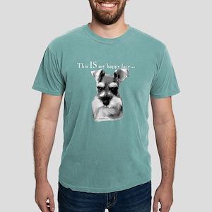Schnauzer Happy Face dark T-Shirt