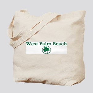 West Palm Beach shamrock Tote Bag