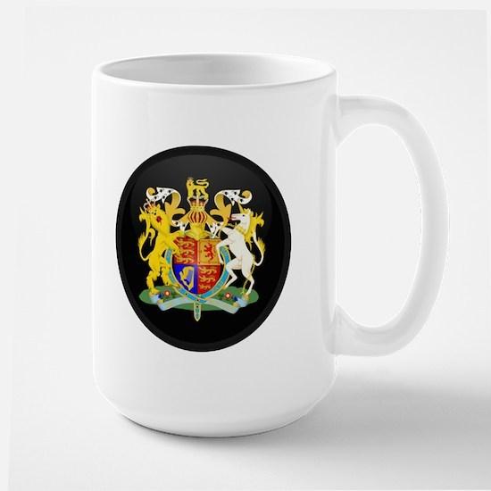 Coat of Arms of United Kingd Large Mug