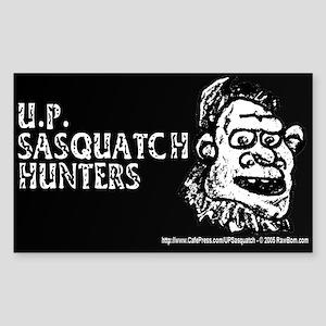 U.P. SASQUATCH HUNTERS - Rectangle Sticker
