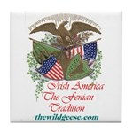Irish America: Fenian Trad -Tile Coaster