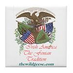 Irish America: Fenian Trad -Tile Coaster