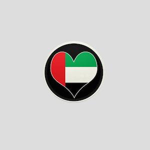 I love UAE Flag Mini Button