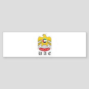 arab Coat of Arms Seal Bumper Sticker