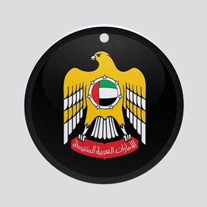 Coat of Arms of UAE Ornament (Round)