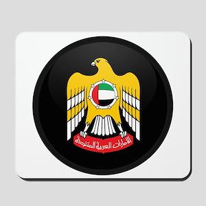 Coat of Arms of UAE Mousepad