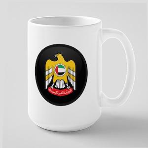 Coat of Arms of UAE Large Mug