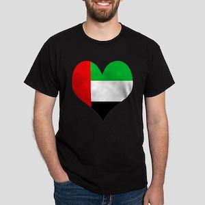 I Love UAE Dark T-Shirt