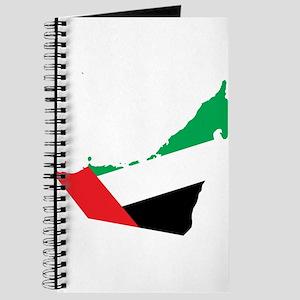 UAE Flag Map Journal