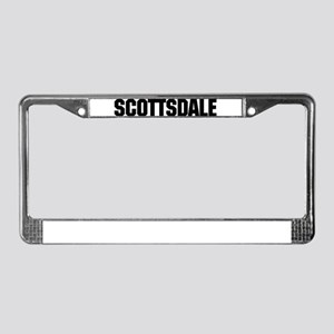 Scottsdale, Arizona License Plate Frame