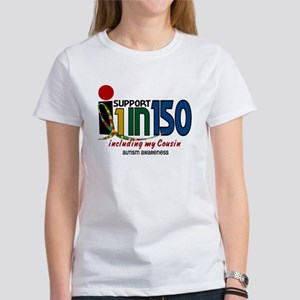 I Support 1 In 150 & My Cousin Women's T-Shirt
