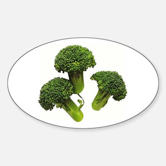 Broccoli Oval Decal