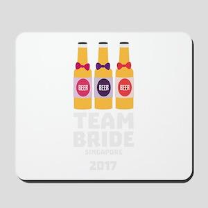Team Bride Singapore 2017 C4gkk Mousepad