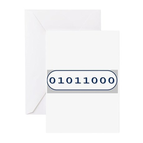 BINARY Greeting Cards (Pk of 10)