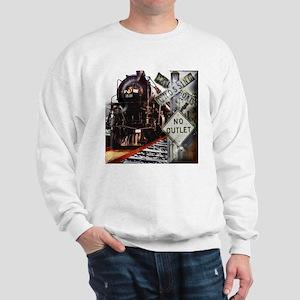 Flawn Ocho Train Collage Sweatshirt