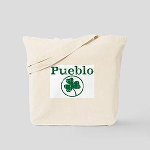Pueblo shamrock Tote Bag